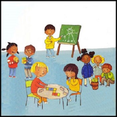 Copiii si intrarea in colectivitate