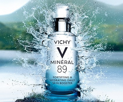 Vichy Mineral 89 Gel-Booster zilnic cu efect de fortifiere si reumplere 50 ml