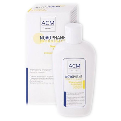 ACM Novophane Sampon energizant cu 6 vitamine par fragil 200 ml