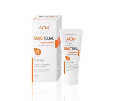 ACM Sensitelial Crema pentru protectie solara SPF50+ 40 ml