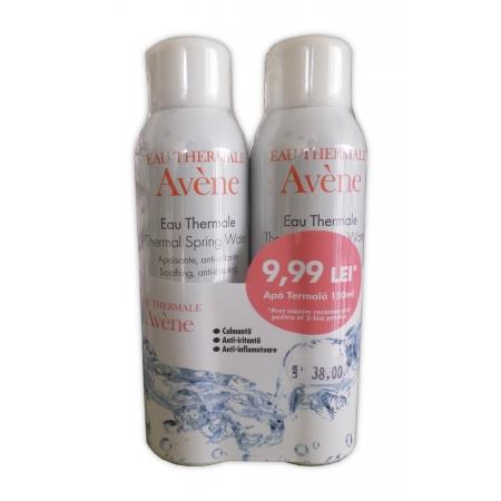 Avene Apa termala spray 150 ml 1 + 1 al II lea la 9,99 RON