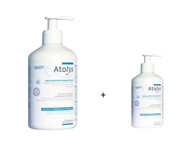 AtoLys Emulsie hidratanta piele atopica 200 ml + Emulsie hidratanta pentru piele atopica 40 ml