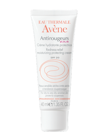 Avene Antirougeurs Jour Crema hidratanta protectoare SPF20 ten uscat/sensibil 40 ml