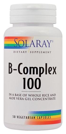 B-Complex 100 mg 50 capsule