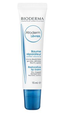 Bioderma Atoderm Balsam pentru buze 15 ml