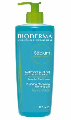 Bioderma Sebium Gel Spumant ten mixt/gras 500 ml