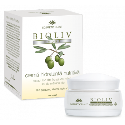 Cosmetic Plant Bioliv Hydra Crema hidratanta nutritiva ten uscat 50 ml