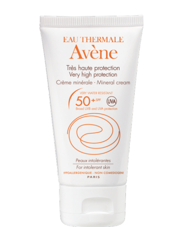 Avene Crema minerala SPF50+ 50 ml