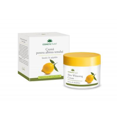 Cosmetic Plant Crema pentru albirea tenului cu extract de lamaie si papadie 50 ml