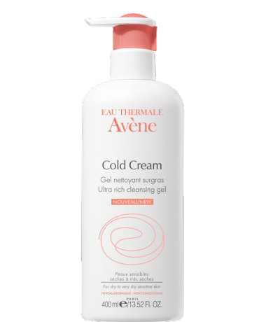 Avene Cold Cream Gel de dus 400 ml