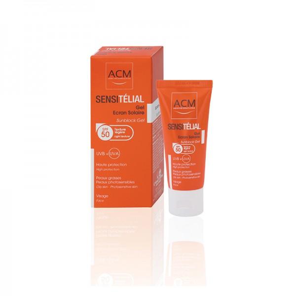 ACM Sensitelial Gel pentru protectie solara  SPF50 40 ml