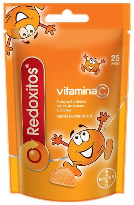 Redoxitos cu Vitamina C 25 jeleuri