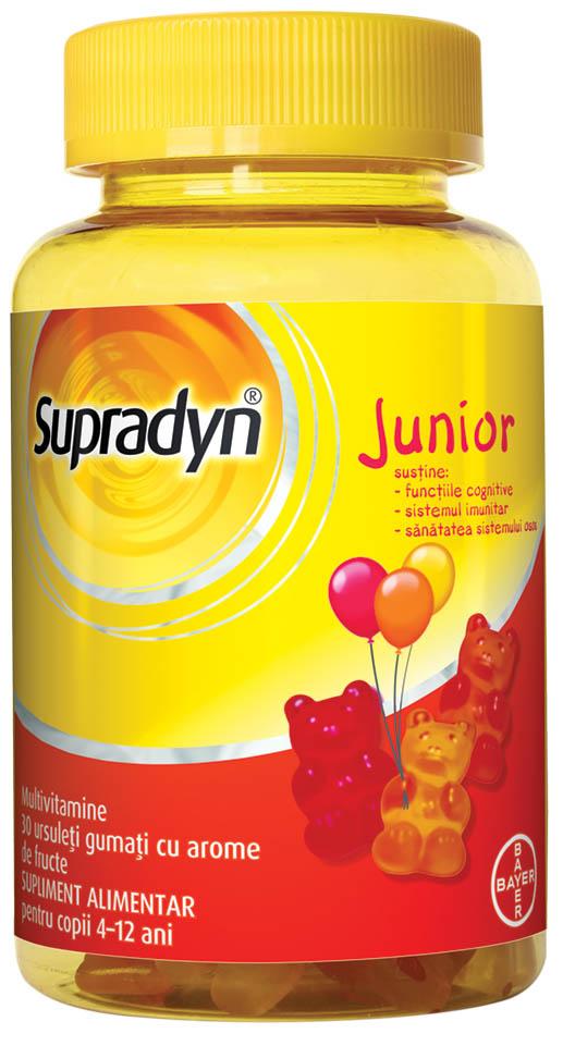 Supradyn Junior 30 ursuleti gumati