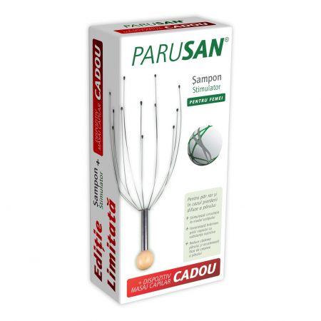Parusan Sampon stimulator 200 ml + Dispozitiv masaj capilar Cadou