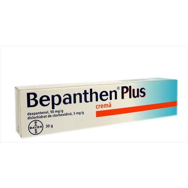 comanda online bepanthen plus crema 50mg 5 mg g 30 g pret