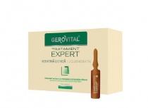Gerovital Tratament Expert Keratină lichidă fiole 10 ml 10 fiole