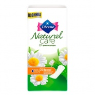 Libresse Natural Care Pantyliners  Normal Absorbante zilnice 20 bucati