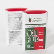 Acid Folic 1 mg 100 comprimate