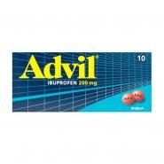 Advil 200 mg 10 drajeuri