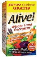 Alive! fara fier 30 + 10 tablete Cadou