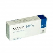 Asaprin 500 mg 20 comprimate