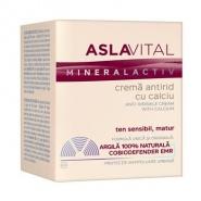 Aslavital Mineral Activ Crema antirid cu calciu 50 ml