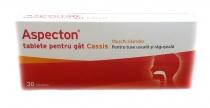 Aspecton Tablete pentru gat Cassis 30 tablete