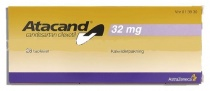 ATACAND 32 mg X 28 COMPR. 32mg ASTRAZENECA AB