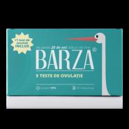 Barza Test de ovulatie banda 5 bucati + Test de sarcina Cadou