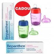 Bepanthen Pachet Unguent 5mg/g 100 g 2 tuburi + Avent Cana cu tetina moale 6+ luni 200 ml