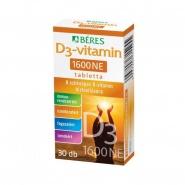 Beres Vitamina D3 1600 U.I 30 comprimate