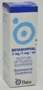 BETABIOPTAL x 1 - PIC.OFT. PICATURI OFT.SUSP. 0,2g+0,5g/100ml THEA FARMASPA