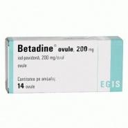 Betadine Ovule 200 mg 14 bucati
