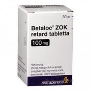 BETALOC R ZOK 100 mg x 30 COMPR. FILM. ELIB. PREL. 100mg ASTRAZENECA AB