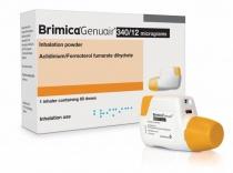 BRIMICA GENUAIR 340 micrograme/12 micrograme X 1