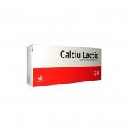 Calciu lactic 500 mg 20 comprimate