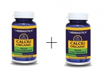Calciu organic 60 capsule + Calciu organic 10 capsule Cadou