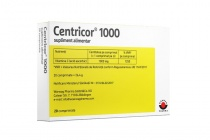 Centricor 1000 mg 20 comprimate