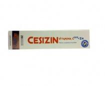 Cesizin Vitamina C 1000 +Zn  20 comprimate efervescente