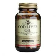 Cod Liver Oil (Ulei din ficat de cod) 100 capsule