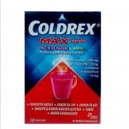 Coldrex  Maxgrip cu Fructe de padure si Mentol 10 plicuri