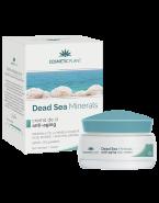 Cosmetic Plant Crema de zi pentru fermitate cu minerale de la Marea Moarta (Dead Sea Minerals), alge marine si acid hialuronic cu SPF15 50 ml