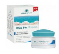 Cosmetic Plant  Dead Sea Minerals Crema de noapte pentru fermitate cu minerale de la Marea Moarta, alge marine, coenzima Q10 50 ml