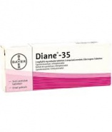 DIANE-35 0,035 mg/2,0 mg X 21