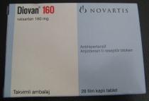 DIOVAN 160 mg x 28 COMPR. FILM. 160mg NOVARTIS PHARMA GMBH