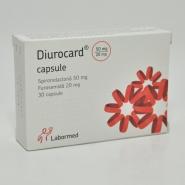 DIUROCARD 50 mg/20 mg x 30 CAPS. 50mg/20 mg LABORMED PHARMA S.A.