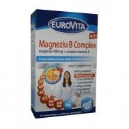 Eurovita Magneziu B Complex 42 comprimate cu eliberare prelungita