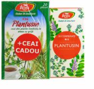 Fares R13 Plantusin 30 comprimate + Plantusin ceai 20 plicuri Cadou