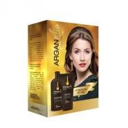 Farmec Pachet Argan Plus Sampon cu Ulei de Masline 250 ml + Masca cu Ulei de Masline 150 ml