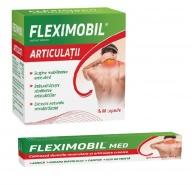 Fleximobil Articulatii 60 capsule + Fleximobil Med Gel emulsionat 100 g Cadou